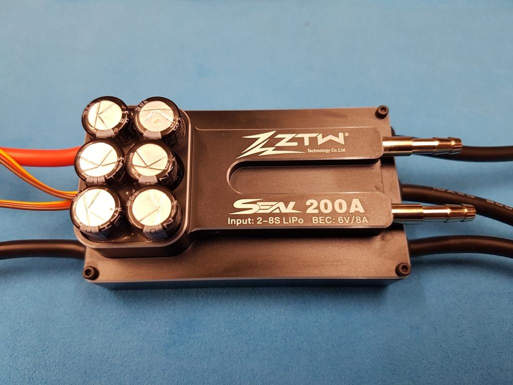 Paramétrer un ZTW 200A 8S